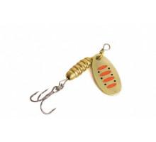 Блесна Mottomo Bug Blade 1 5.5g Gold 14