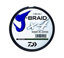 Шнур плетёный Daiwa J-Braid X4 #0,6 0,1мм 9lb 135м