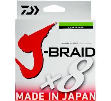 Шнур плетёный Daiwa J-Braid X8 #0,8 0,1мм 13lb 150м