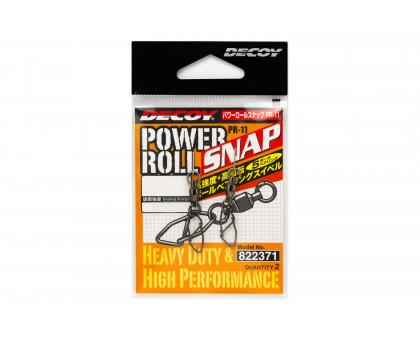 Вертлюг силовой DECOY Power Roll Snap PR-11 #2 55lb