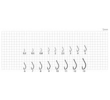 Крючки BOREI Meito Akita 10шт 0.5 TIN