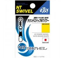Вертлюг с карабином NT Swivel #422B 1