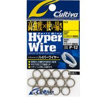 Кольцо заводное OWNER Hyper Wire P-12 #8 115lb нерж.