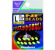 Бусины Hayabusa светонакопительные P-700G L