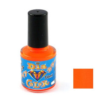 Лак TOHO Diamond Color 0431 Fluo Orange