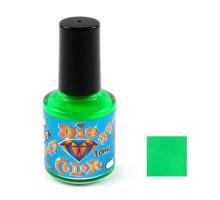 Лак TOHO Diamond Color 0433 Fluo Green